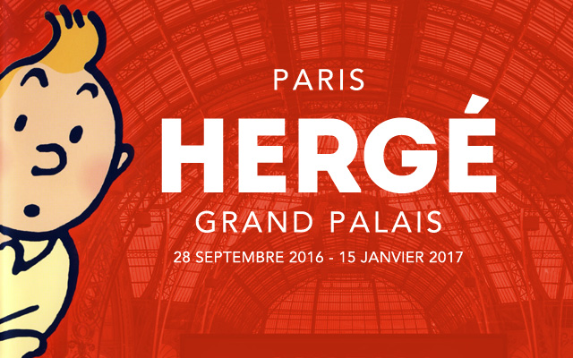 Exposition Hergé Grand Palais Paris