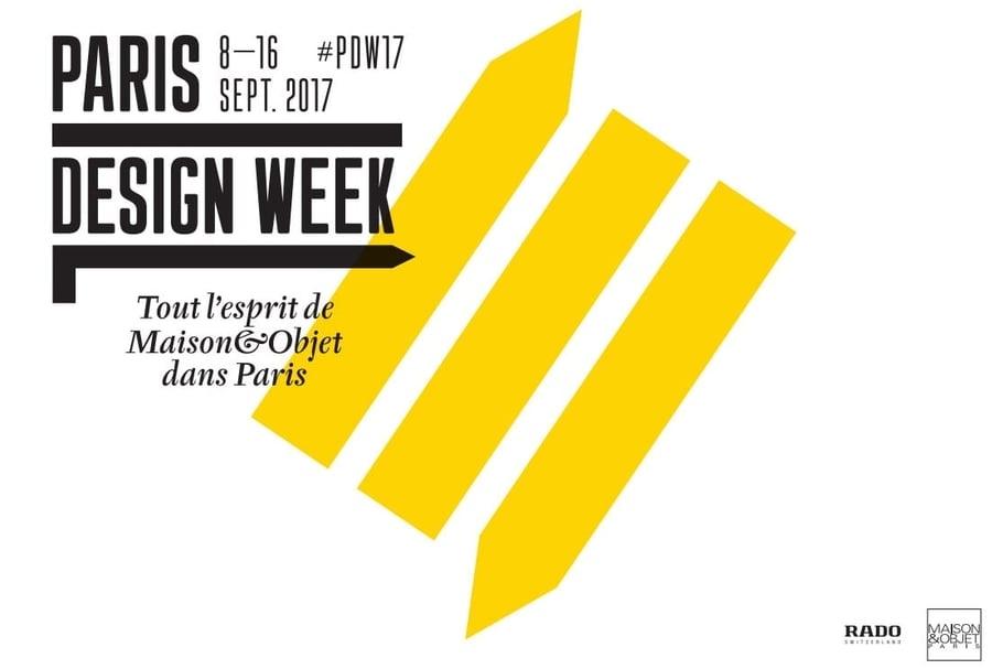 Paris Design Week 2017 : l'événement de la rentrée