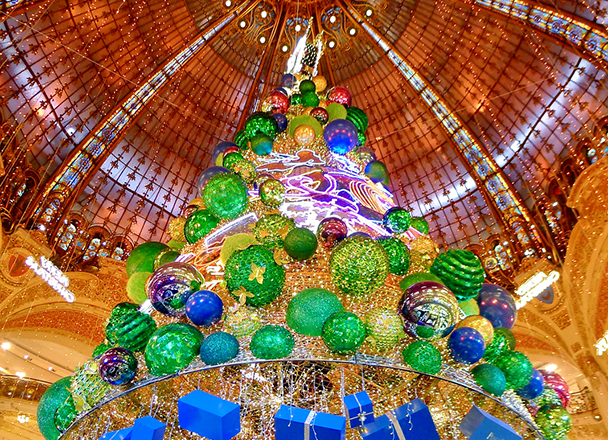 Hôtel Appia - Vitrines de Noël